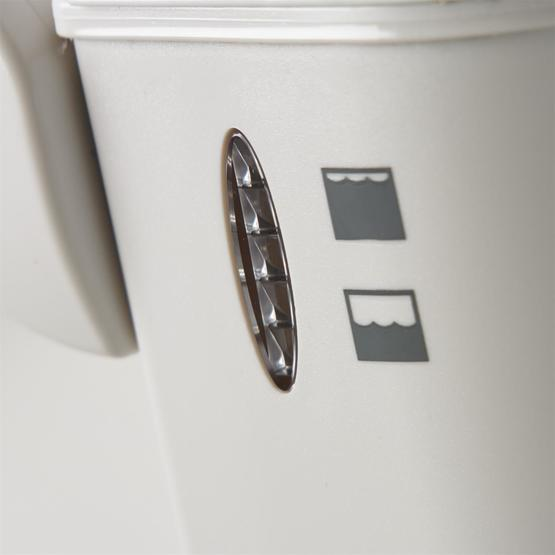 Dometic 976 Portable Toilet - White/Grey image 8