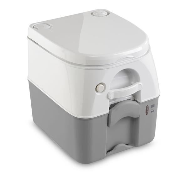 Dometic 976 Portable Toilet - White/Grey image 2