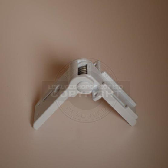 Dometic Fridge Freezer Compartment Hinge - White (2412125011) image 2
