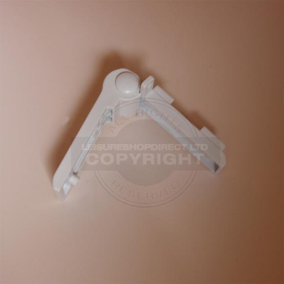 Dometic Fridge Freezer Compartment Hinge - White (2412125011) image 5