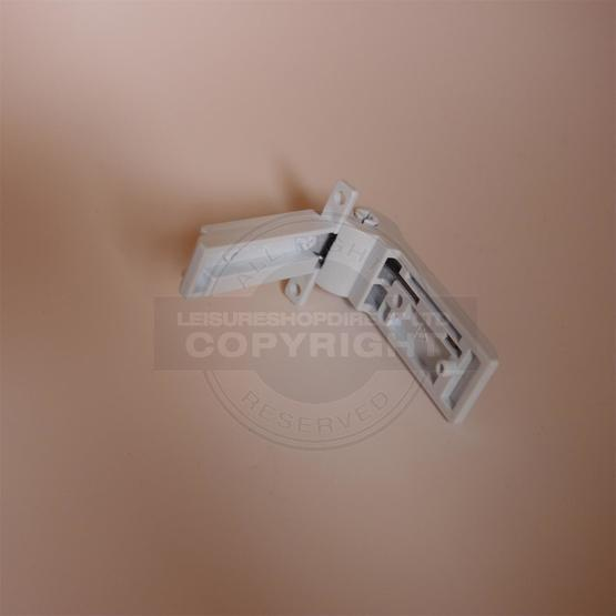 Dometic Fridge Freezer Compartment Hinge - White (2412125011) image 3