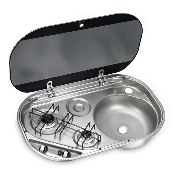 Dometic HSG2440R Hob & Sink image 1