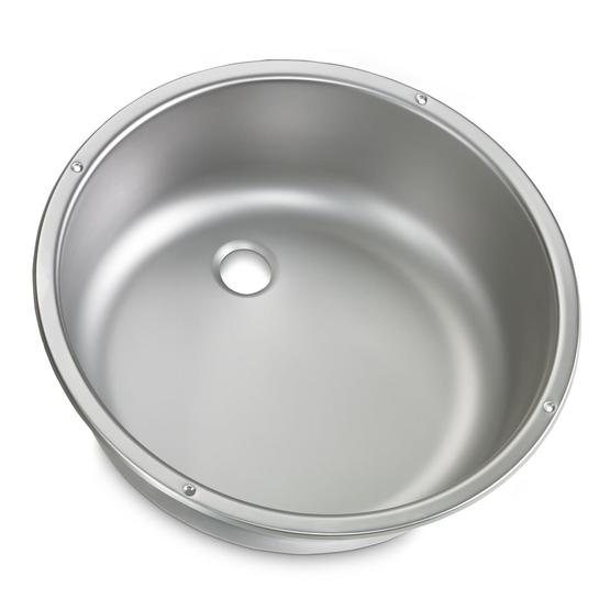 Dometic Series VA928 Round Caravan Sink image 1