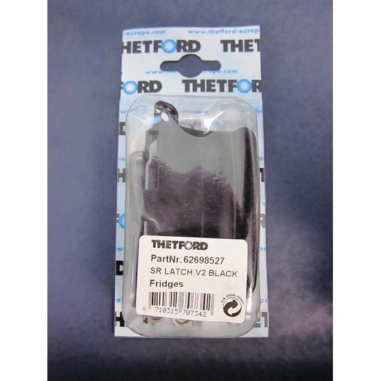 Thetford Door Latch for the Thetford Fridges - black image 1