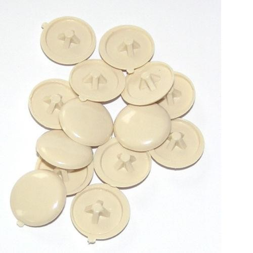 Pozi screw covers - Beige colour image 1