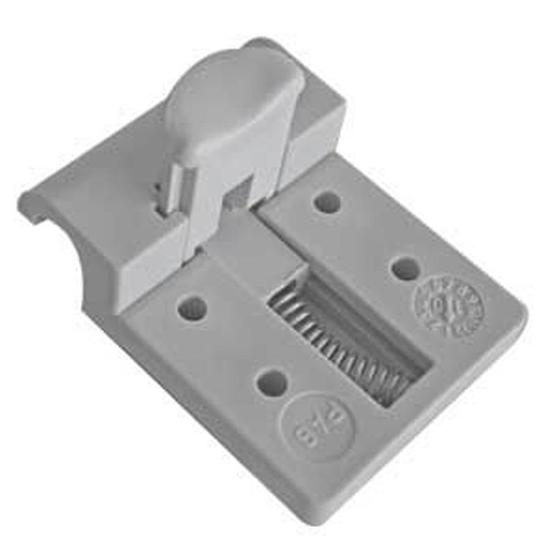 Fawo table top bracket (grey) plastic image 1