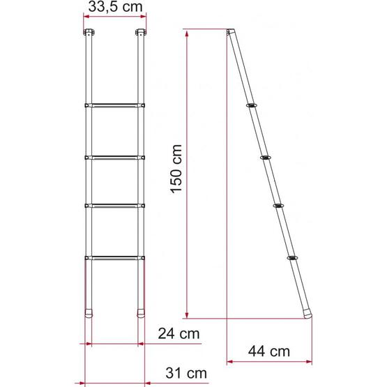 Fiamma Deluxe 4B Internal Ladder image 4
