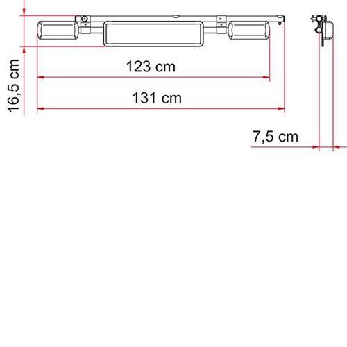 Fiamma Kit Support Bar image 2