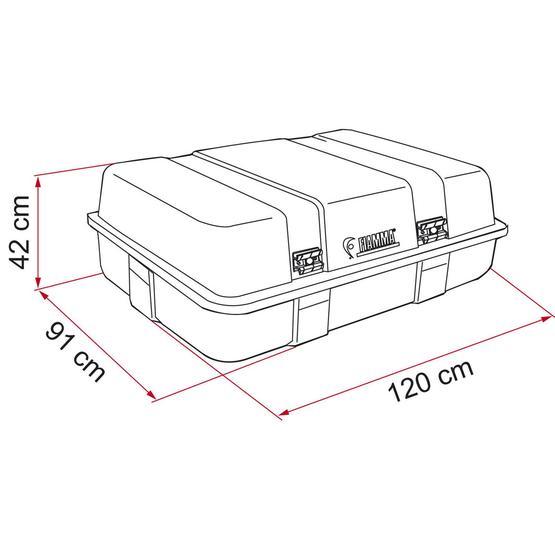Fiamma Ultra Top Box Type 2 (400L) image 4