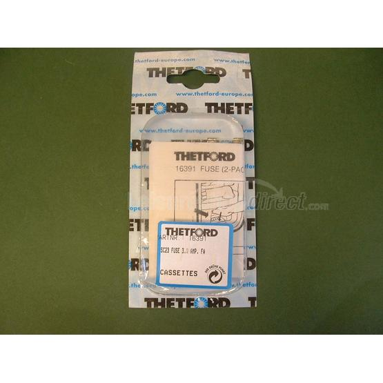 Glass fuse 3 Amp for the Thetford C2 & C3 Cassettes image 1