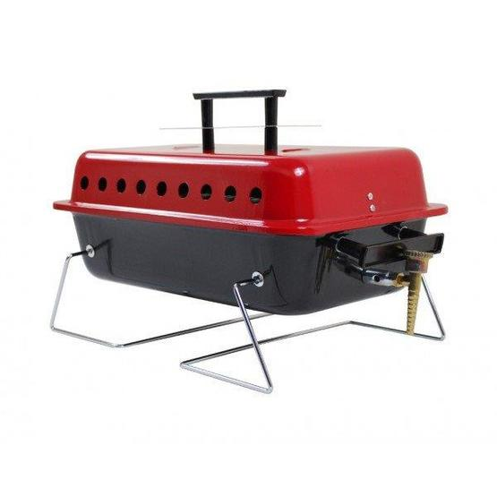 Gordon portable gas bbq with lid camping barbecues for Giordano shop barbecue a gas