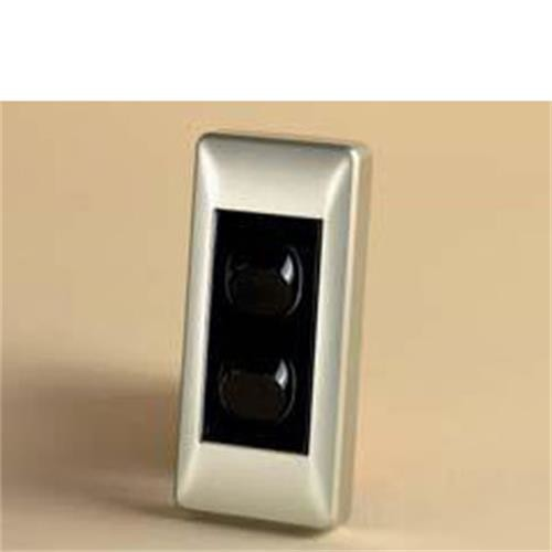 Double Architrave Switch Black / Silver Sand image 1