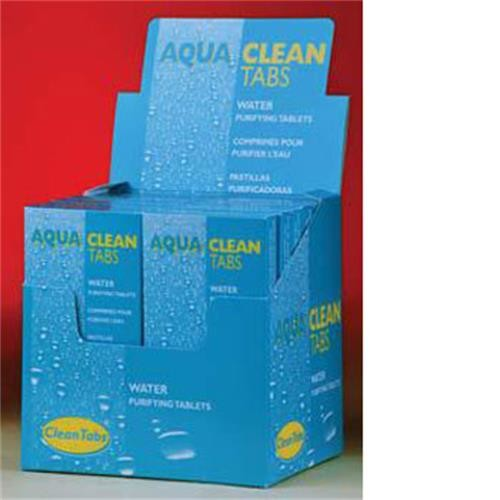 aqua clean tabs water purification tablets water purification leisureshopdirect. Black Bedroom Furniture Sets. Home Design Ideas
