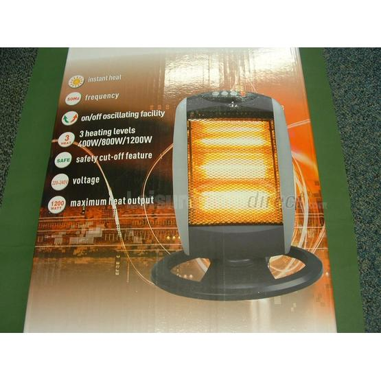 Halogen Heater - 1,200W image 1