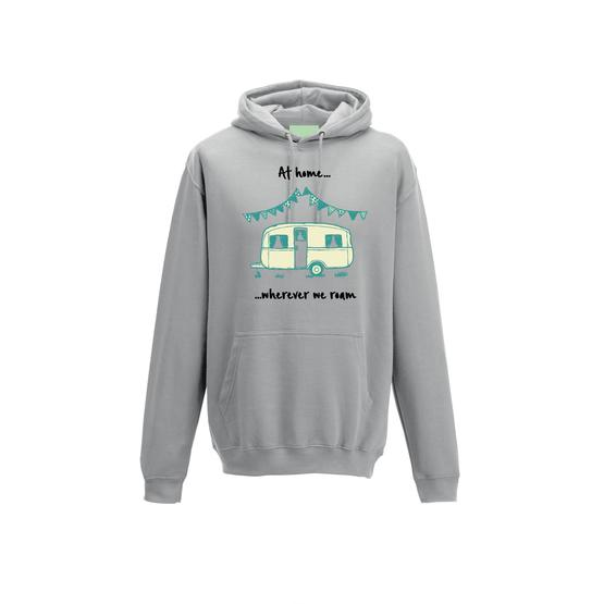 Caravan Hoodie - Caravan Sketch - at home wherever we roam image 6