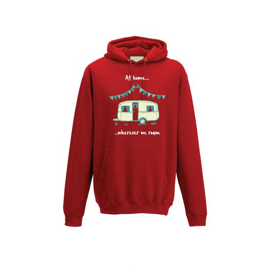 Caravan Hoodie - Caravan Sketch - at home wherever we roam image 8