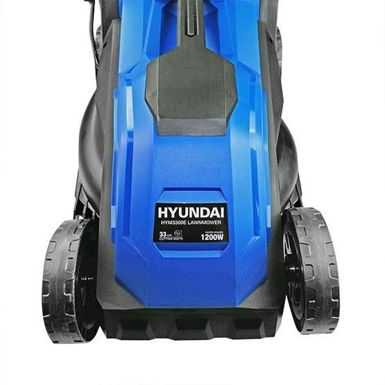 Hyundai HYM3300E Electric 1200W / 230V 33cm Rotary Rear Roller Lawnmower image 10