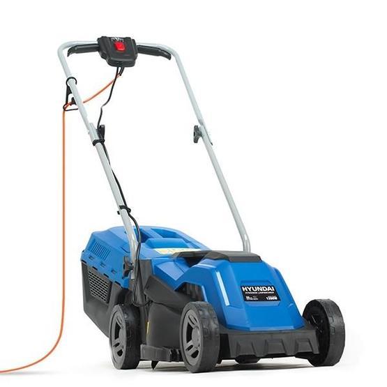 Hyundai HYM3300E Electric 1200W / 230V 33cm Rotary Rear Roller Lawnmower image 1