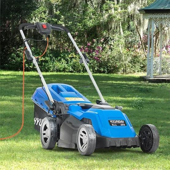 Hyundai HYM3800E Electric 1600W / 230V 38cm Rotary Rear Roller Lawnmower image 6