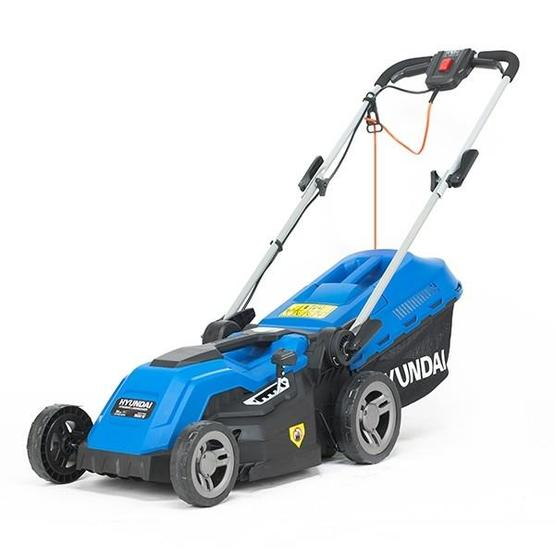 Hyundai HYM3800E Electric 1600W / 230V 38cm Rotary Rear Roller Lawnmower image 3