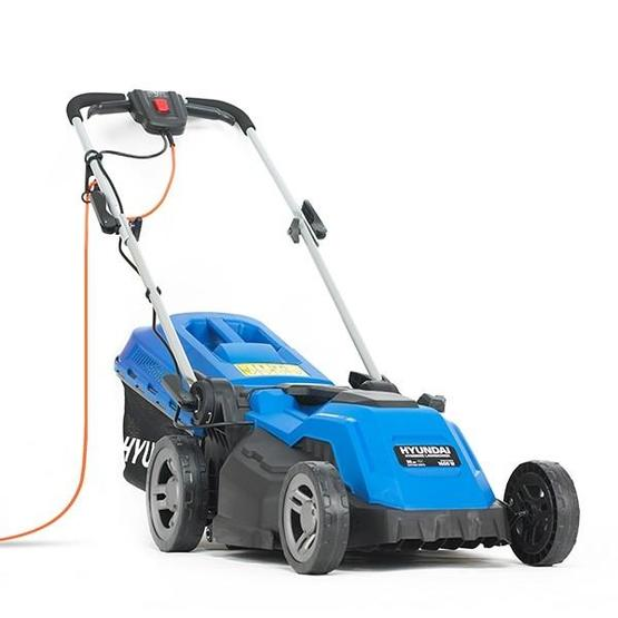 Hyundai HYM3800E Electric 1600W / 230V 38cm Rotary Rear Roller Lawnmower image 2