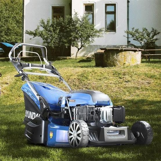 "Hyundai HYM530SPER 21"" 525mm Self Propelled Electric Start 173cc Petrol Roller Lawn Mower image 24"