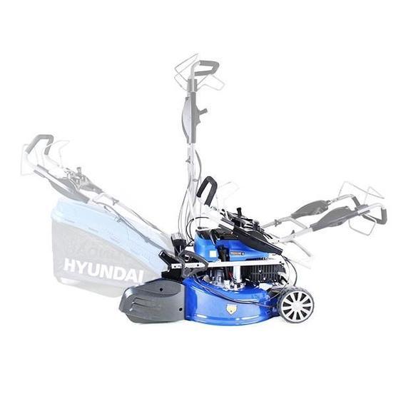 "Hyundai HYM530SPER 21"" 525mm Self Propelled Electric Start 173cc Petrol Roller Lawn Mower image 22"