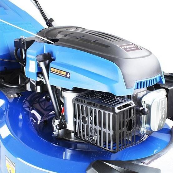 "Hyundai HYM530SPER 21"" 525mm Self Propelled Electric Start 173cc Petrol Roller Lawn Mower image 4"
