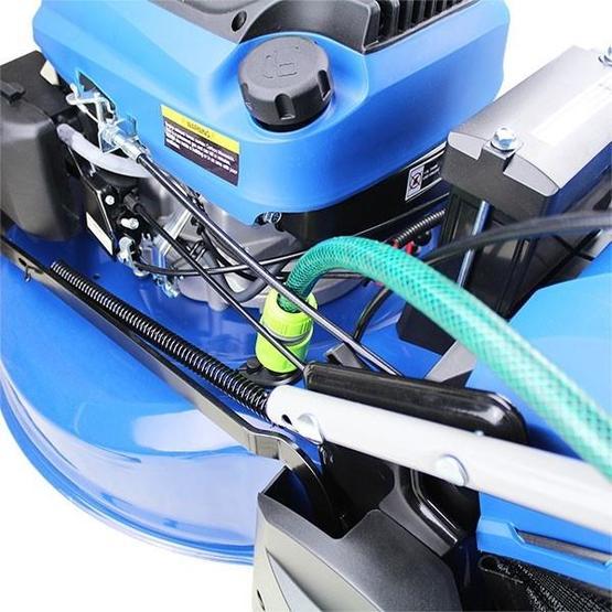 "Hyundai HYM530SPER 21"" 525mm Self Propelled Electric Start 173cc Petrol Roller Lawn Mower image 25"