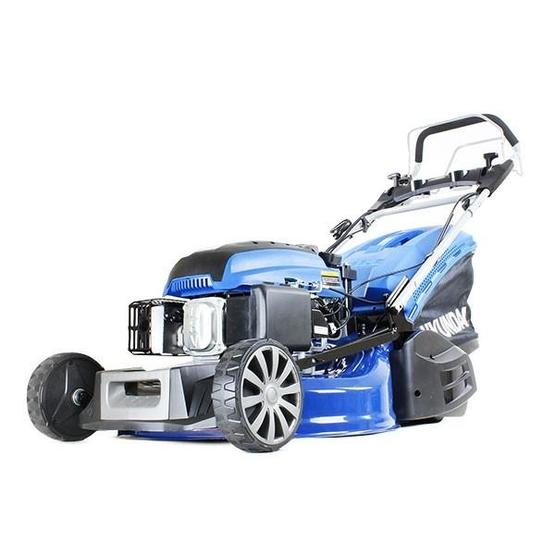 "Hyundai HYM530SPER 21"" 525mm Self Propelled Electric Start 173cc Petrol Roller Lawn Mower image 1"