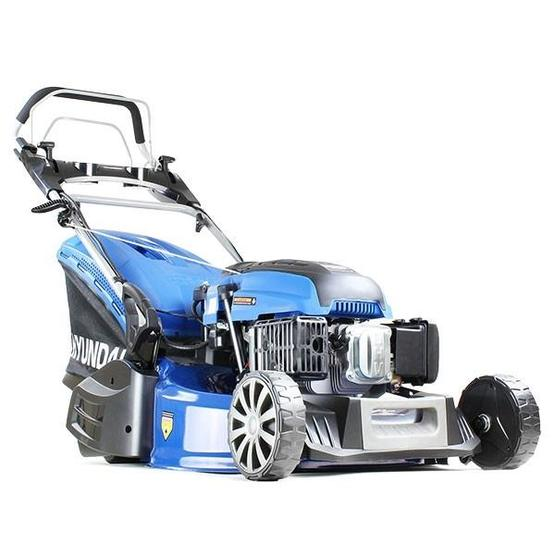 "Hyundai HYM530SPER 21"" 525mm Self Propelled Electric Start 173cc Petrol Roller Lawn Mower image 2"