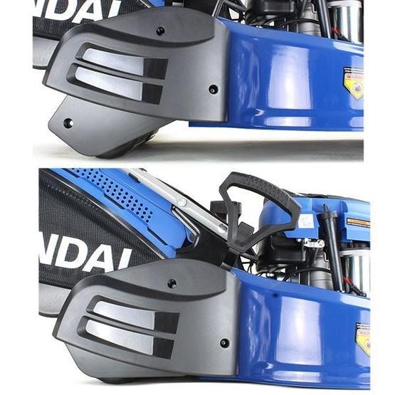 "Hyundai HYM530SPER 21"" 525mm Self Propelled Electric Start 173cc Petrol Roller Lawn Mower image 6"