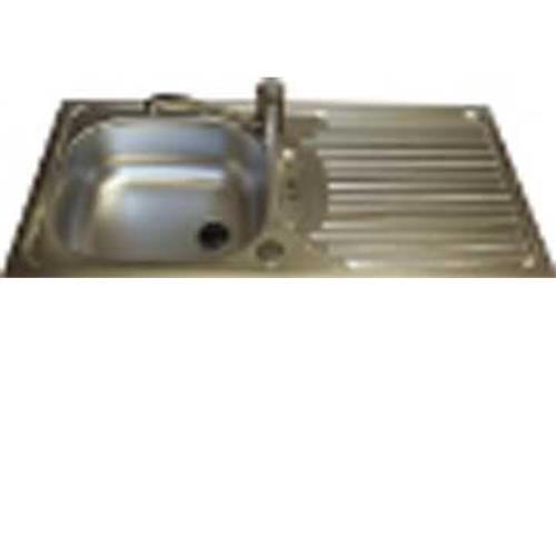 Euroline stainless steel sink & drainer