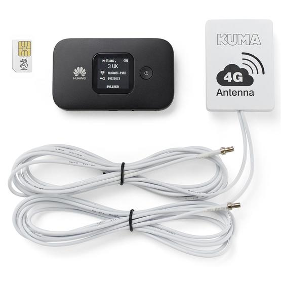 Kuma 4G Caravan & Motorhome Mobile Pocket WiFi Kit with Antenna image 1