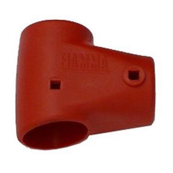 "Fiamma left ""t"" adapter red cb pro image 1"