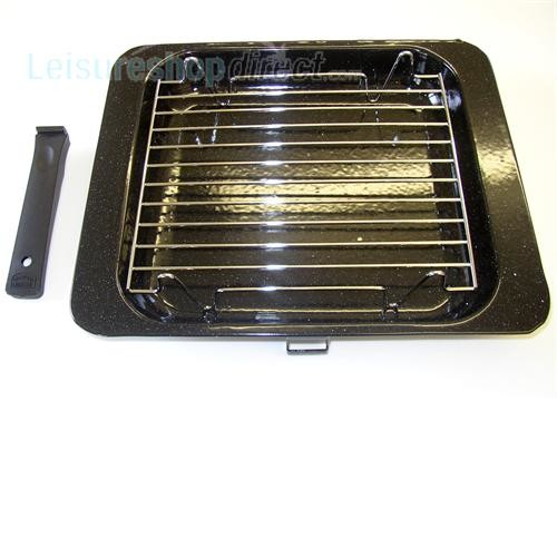 Spinflo Grill pan and handle + Trivett image 1