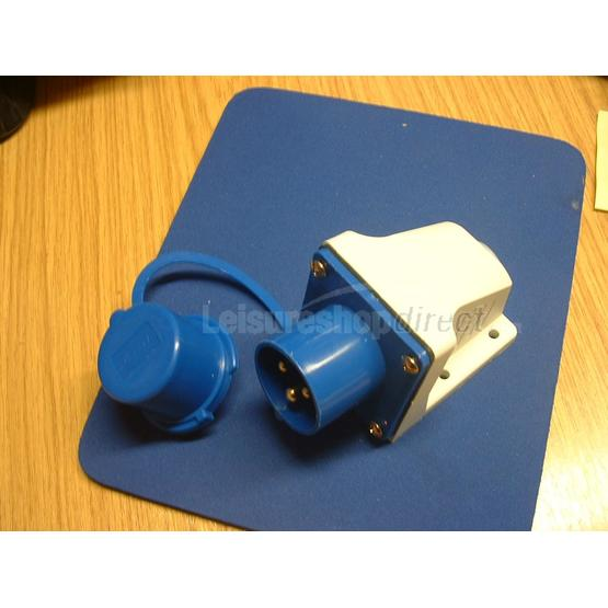 Mains inlet for surface fixing image 1