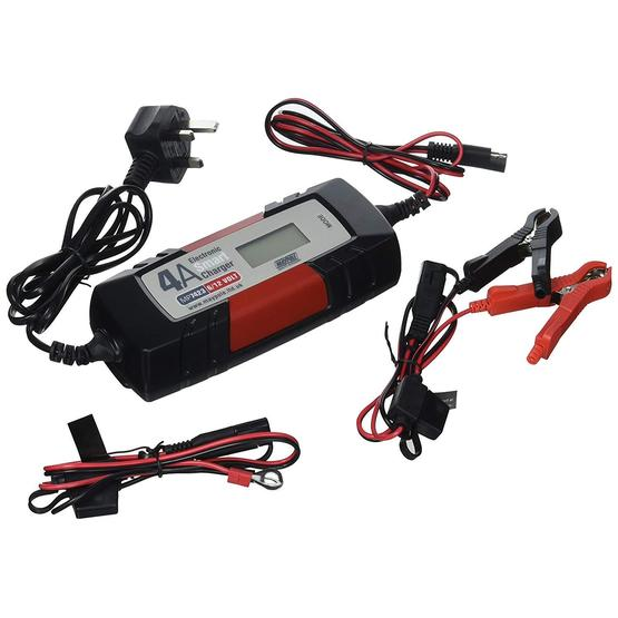 Maypole 7423A Electronic Smart Battery Charger (4A 12V) image 1