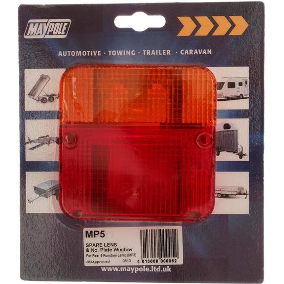 Maypole MP5 Rear Light Lens image 1