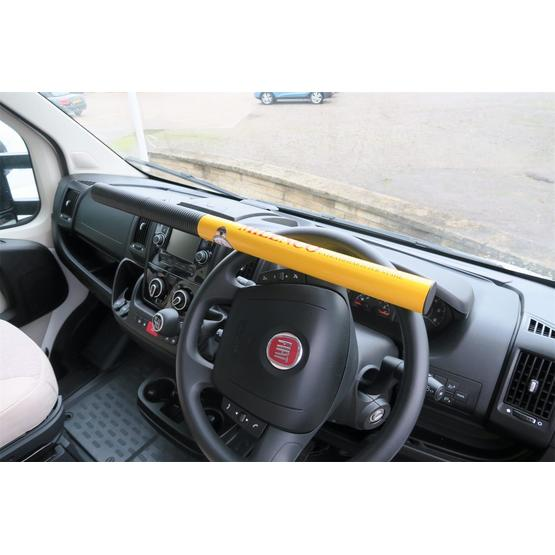 Milenco Commercial High Security Steering Wheel Lock image 1