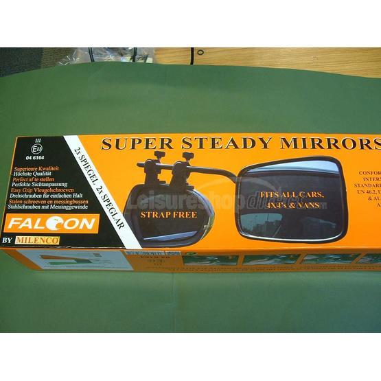 Milenco Falcon Super Steady Twin pack mirrors image 2