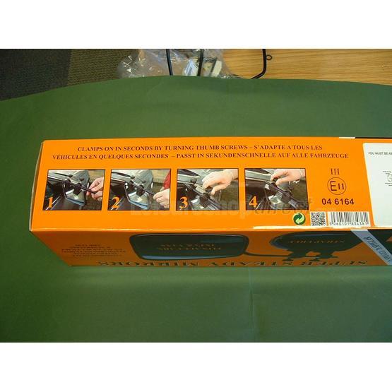 Milenco Falcon Super Steady Twin pack mirrors image 3