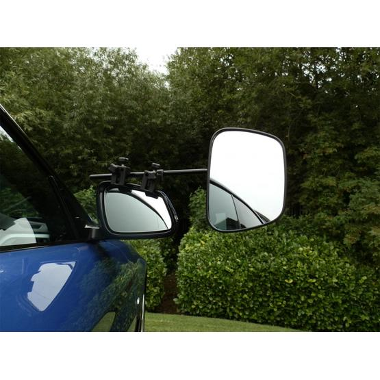 Milenco Grand Aero Extra wide convex Towing Mirror - Convex (Twin Pack) image 1