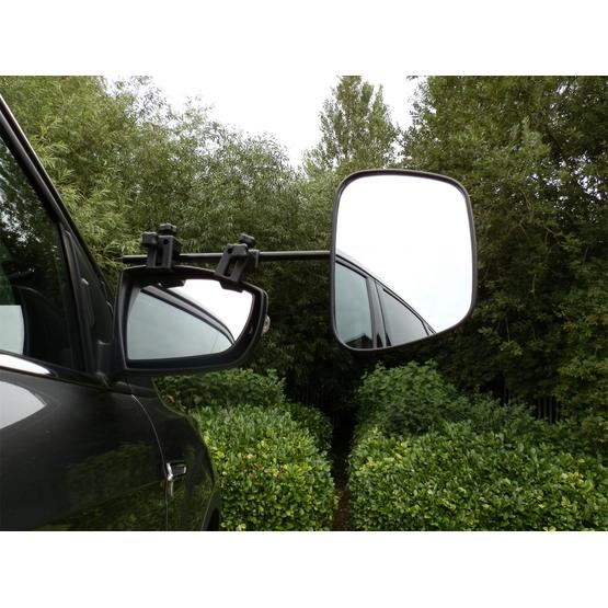 Milenco Grand Aero Extra wide convex Towing Mirror - Convex (Twin Pack) image 4