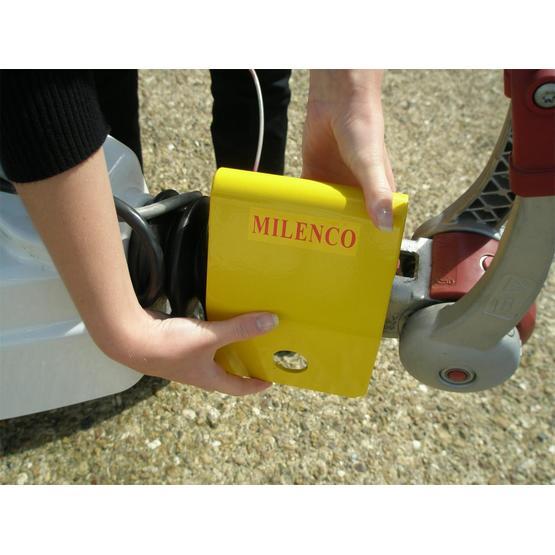 Milenco Heavy Duty 3004 Caravan Hitch Lock image 3