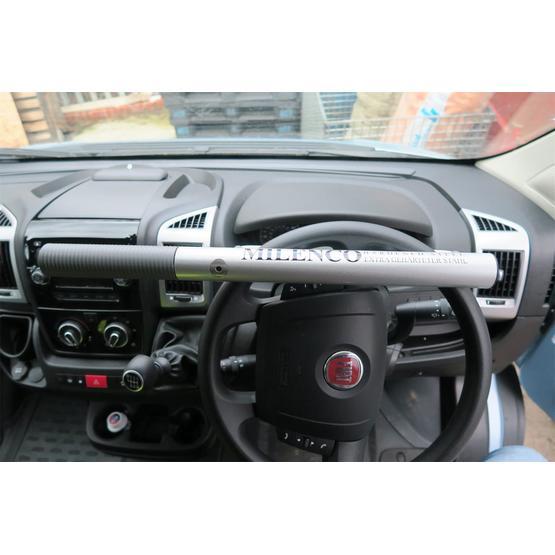 Milenco High Security Steering Wheel Lock (Silver) image 1