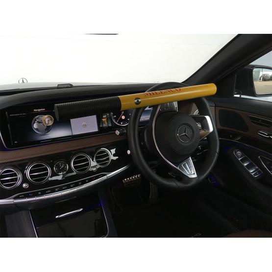 Milenco High Security Steering Wheel Lock (Yellow) image 2