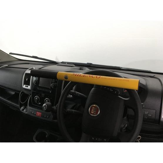 Milenco High Security Steering Wheel Lock (Yellow) image 1