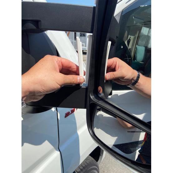Milenco Motorhome Mirror Protector (Short Arm) image 8