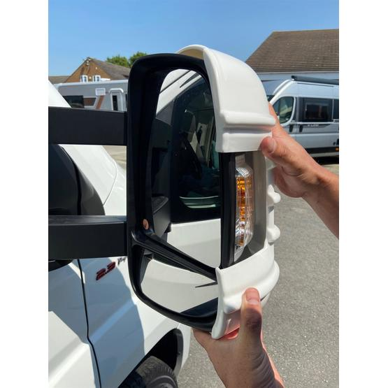 Milenco Motorhome Mirror Protectors (Wide Arm) - Black image 3
